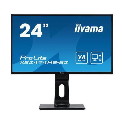 """23,6"""" iiyama XB2474HS-B2 VA pivot 4ms D-Sub/HDMI/DP Spks"""