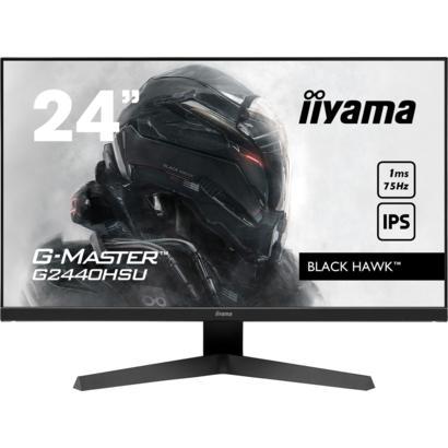 "23,8"" iiyama G-Master G2440HSU-B1 75Hz 1ms HDMI/DP spks"