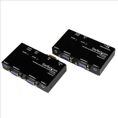 StarTech VGA Video Verlenger via Cat5 met Audio