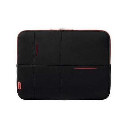 "Samsonite Airglow laptop sleeve 14,1"" zwart/rood"