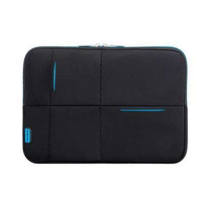 "Samsonite Airglow laptop sleeve 14,1"" zwart/blauw"