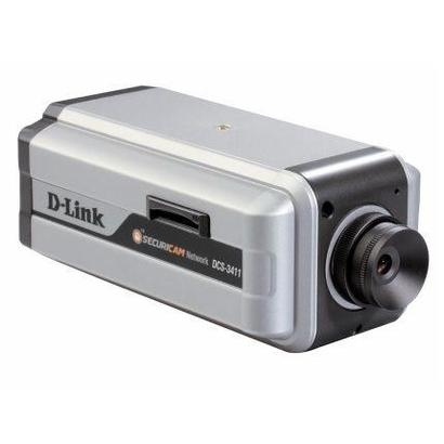 D-Link DCS-3411 Dag & Nacht PoE 3G Netwerk camera (ex demo)