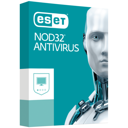 ESET NOD32 Antivirus 10 2-user 1 jaar (Download)