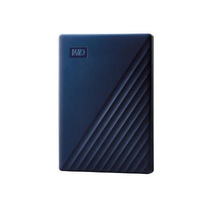 WD My Passport for Mac 4TB blauw