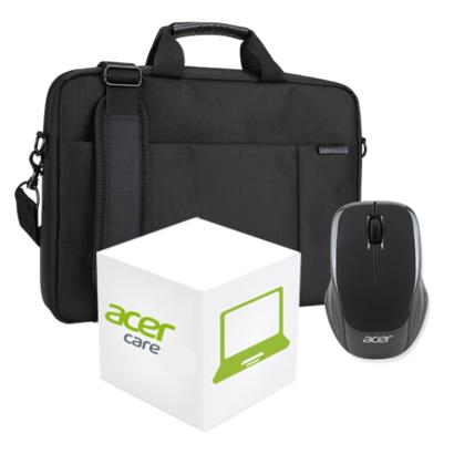 """Acer Basic A garantie upgrade naar 3 jaar met 17"""" tas & muis"""