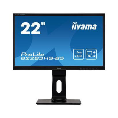 """21,5"""" iiyama B2283HS-B5 LED Pivot D-Sub/HDMI/DP Spks"""