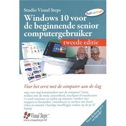 Computerboek Windows 10 beginnende senior computergebruiker