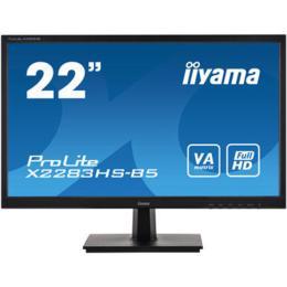 """21,5"""" iiyama X2283HS-B5 VA LED 4ms D-Sub/HDMI/DP + Spks"""