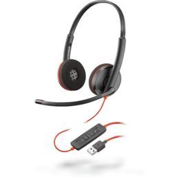 Plantronics Blackwire C3220 USB koptelefoon zwart