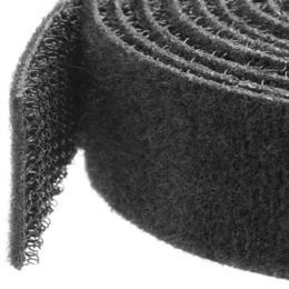 StarTech klitteband kabelbinder 30m rol zwart