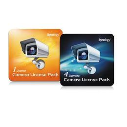 Synology camera license pack - 4 extra licenties