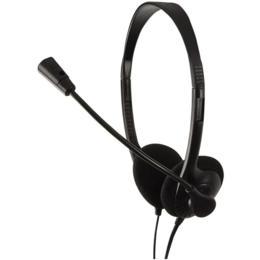 LogiLink Stereo easy koptelefoon met microfoon