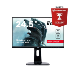"24,5"" iiyama G-Master GB2560HSU-B1 144Hz 1ms HDMI/DP spks"