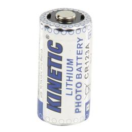 CR123A lithium batterij 3V (Geschikt voor o.a camera)