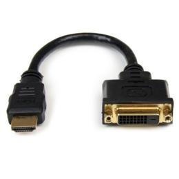 StarTech HDMI naar DVI-D adapterkabel M/F 0.20m