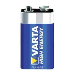 Varta High Energy 9V 6LR61 blokbatterij (per stuk)