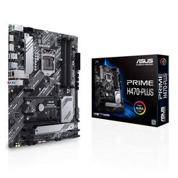 Asus Prime H470-PLUS, VGA, CF, DDR4, HDMI, PCI-E, Soc. 1200
