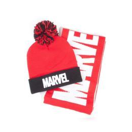 Difuzed Marvel giftset beanie & sjaal