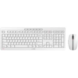 Cherry Stream 3.0 muis en toetsenbord wit