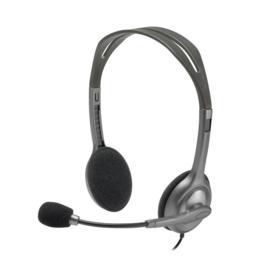Logitech H111 Stereo koptelefoon met microfoon