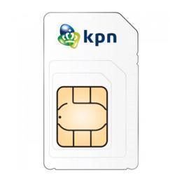 KPN Prepaid 3-in-1 simkaart met 10,- beltegoed en 1GB gratis