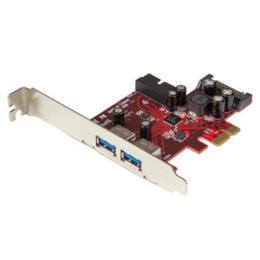 StarTech 4-poorts USB 3.0 adapterkaart 2x intern PCI-E 1x