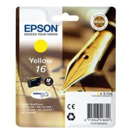 Epson 16 DURABrite Ultra geel inktcartridge