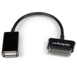 StarTech OTG USB adapter kabel voor Samsung Galaxy Tab 1 & 2