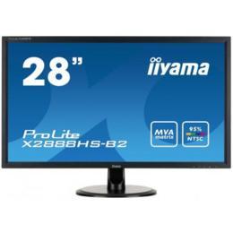 """28"""" iiyama X2888HS-B2 LED MVA 5ms D-Sub/DVI/HDMI/DP/Spks"""
