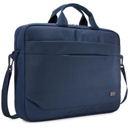 "Case Logic Advantage 15,6"" attache laptoptas blauw"