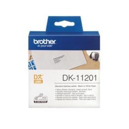 Brother DK-11201 Standaard adreslabel 90x29mm