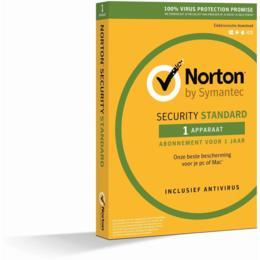 Norton Security Standaard 1-Device 1 jaar (Download)