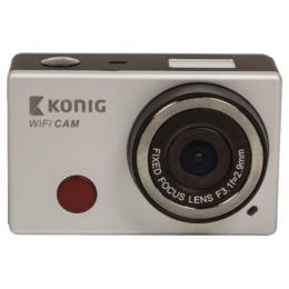 Konig Full HD Actioncam Wifi met waterdichte behuizing