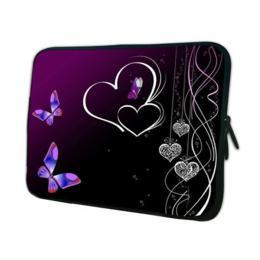 """8"""" beschermhoes voor tablet met vlinders & hartjes"""