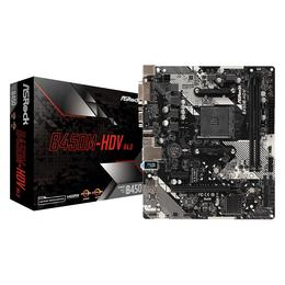 AsRock B450M-HDV R4.0, DDR4, HDMI, PCI-E, Soc AM4