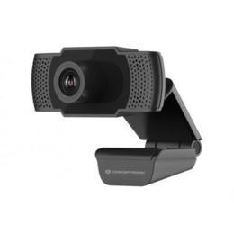 Conceptronic AMDIS Full HD webcam zwart
