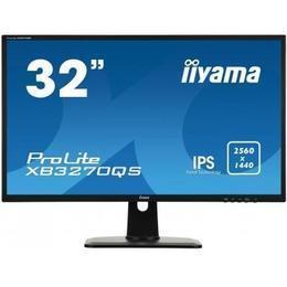 "32"" iiyama XB3270QS-B1 WQHD 4ms DVI/HDMI/DP Spks"