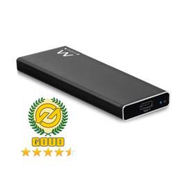 Ewent EW7024 USB-C 3.1 Gen2 M.2 NVMe/PCIe SSD behuizing