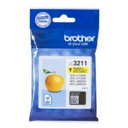 Brother LC-3211Y geel inktcartridge