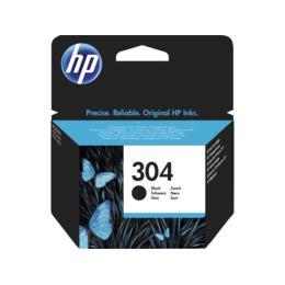 HP 304 zwart inktcartridge