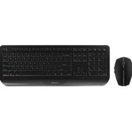 Cherry Gentix draadloze oplaadbare desktop zwart