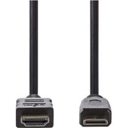Nedis 4K Mini HDMI naar HDMI kabel met ethernet 1,5m