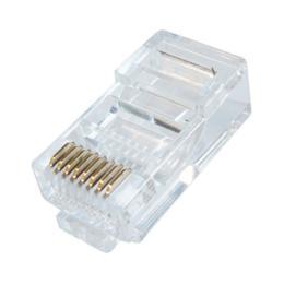UTP CAT5e RJ45 netwerkconnector (per stuk)