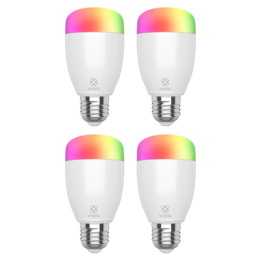 4-pack Woox Diamond Smart WiFi RGB LED E27 lamp