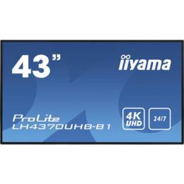 "43"" iiyama LH4370UHB-B1 4K UHD Digital signage monitor"