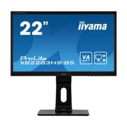 """21,5"""" iiyama XB2283HS-B5 VA LED Pivot D-Sub/HDMI/DP"""