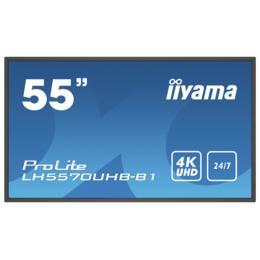 "55"" iiyama LH5570UHB-B1 4K UHD Digital signage monitor"