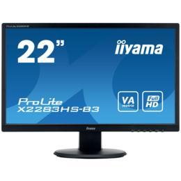 """21,5"""" iiyama X2283HS-B3 VA LED 4ms D-Sub/HDMI/DP + Spks"""