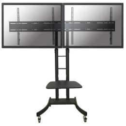 "Newstar PLASMA-M2000ED verrijdbaar meubel tot 70"" zwart"