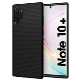 Spigen Liquid Air voor Galaxy Note 10+ mat zwart